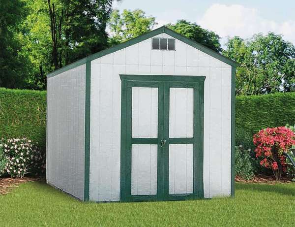 Sutherlands has the YardStar gabled roof shed packages for building a complete storage shed in your yard, including all the materials you need.