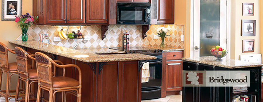 Use Bridgewood's Advantage line of cabinetry to build a dream kitchen.