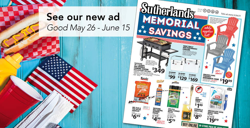 Sutherlands Home Centers Featured Promotion