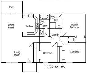 The Midwesterner House Package Floor Plan