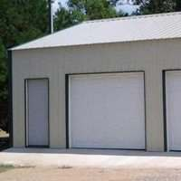 Sutherlands carries suburban post frame garage packages that have all the materials and hardware to build them and are available in multiple colors.