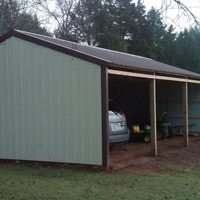 Traditional post frame barn packages from Sutherlands contain all the lumber, siding, roofing and hardware you need.