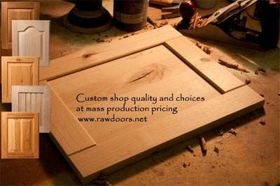 Custom Unfinished Cabinet Doors From Rawdoors.net