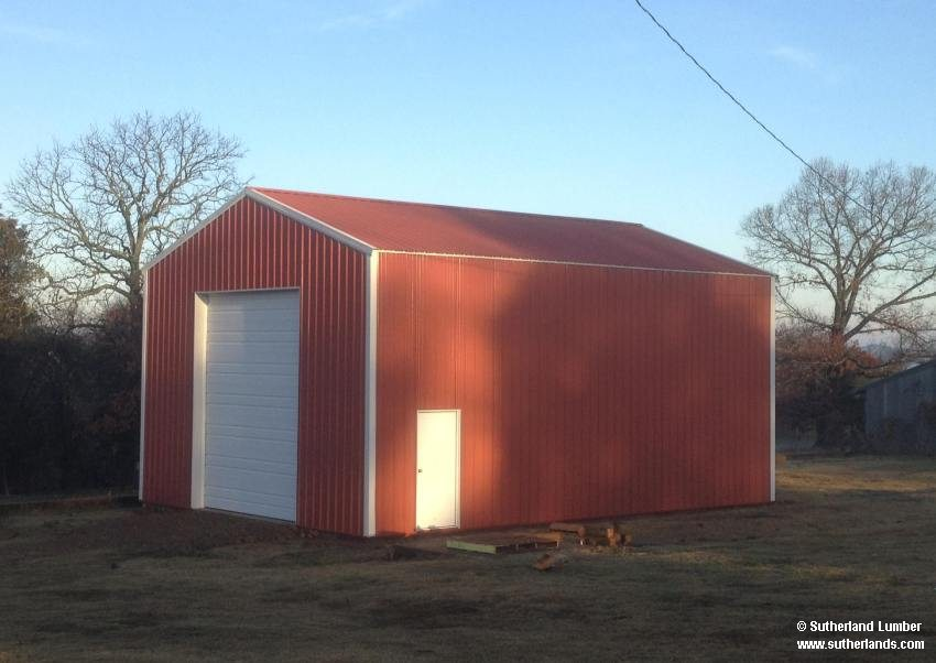 Customer project photo gallery pole barns for 26 x 36 garage