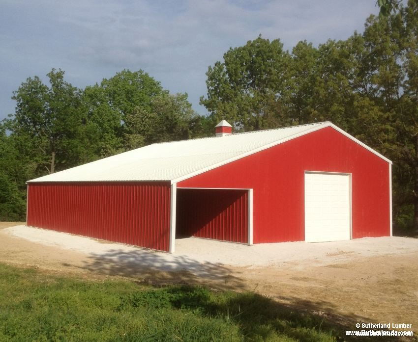 Customer project photo gallery pole barns for 30x50 garage prices