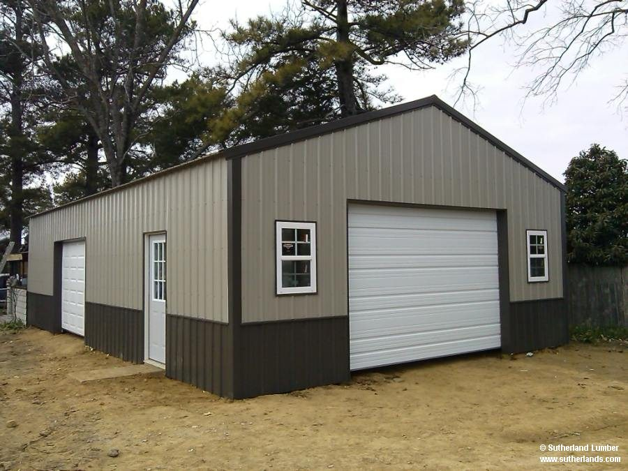 Customer project photo gallery pole barns for Sutherland garage
