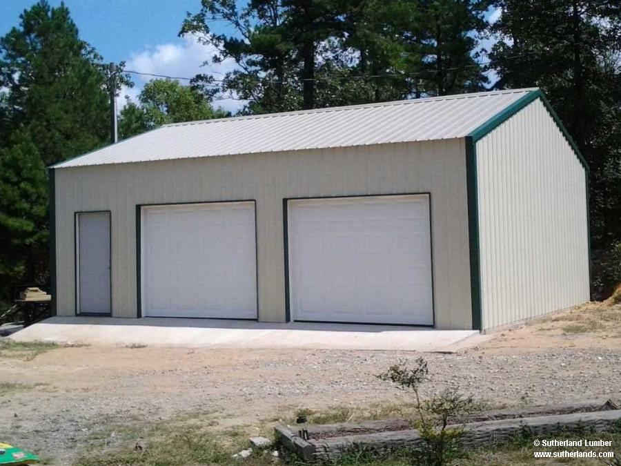 Sutherlands Garage Kits #29: Two Car Garage