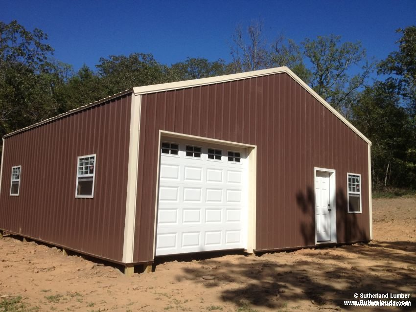 Customer project photo gallery pole barns Sutherland garage