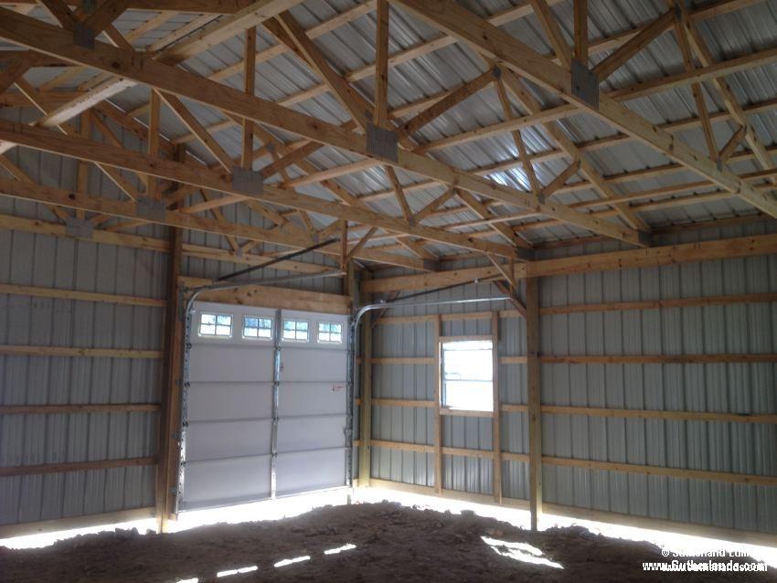 Framing Overhead Garage Door In Pole Barn Joy Studio