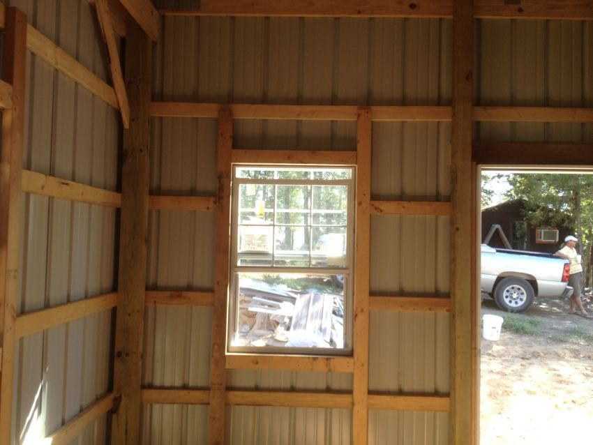 Overhead Door Framing In Pole Barn Joy Studio Design