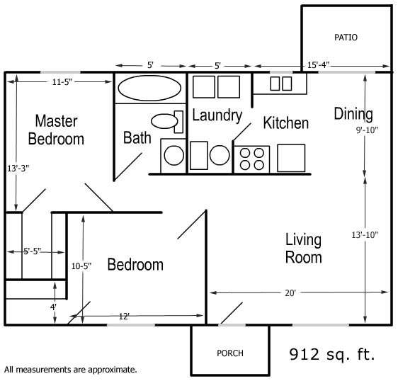 The Scotty Home Package 2 Bedroom 1 Bath Sutherlands