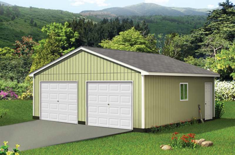 Complete building packages post frame buildings garages sheds garages solutioingenieria Image collections