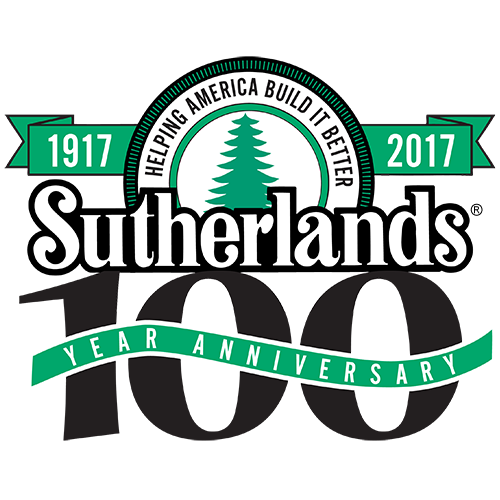 sutherlands 100 year logo home improvement stores local hardware & building supplies  at gsmx.co