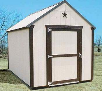 Texas Storage Barn Shed Package At Sutherlands