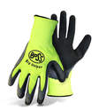 Big Helper High-Vis Poly Knit Latex Palm