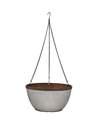 12-Inch Westlake Galvanized Hanging Basket