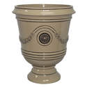 15-Inch Chinchilla Porter Urn Planter
