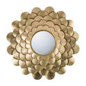 Gold Floral Wall Mirror