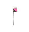 15-Inch Pink Marking Flags, 10-Pack