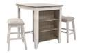 Skempton Counter Height Dining Table & Bar Stools, 3-Piece Set