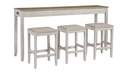Skempton Counter Height Dining Table & Chairs, 4-Piece Set