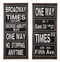 Destinarea - Black And White Wall Decor, Set Of 2