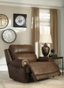 Austere - Brown Zero Wall Power Wide Recliner