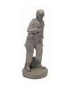 24-Inch Combat Marine Statue, Buff