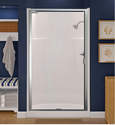 32 x 32 x 72-Inch White Shower Base & Wall