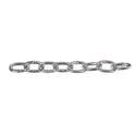 2/0 Zinc Plated Low Steel Carbon Passing Link Chain, Per Foot