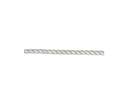 5/8-Inch White 3-Strand Twisted Nylon Rope, Per Foot