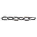 1/4-Inch Zinc Plated Low Carbon Steel Grade 30 Proof Coil Chain, Per Foot