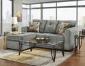 Kelly Gray Chaise Sofa