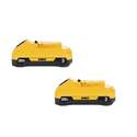 2-Volt Max 3.0ah Lithium-Ion Compact Battery Pack, 2-Pack