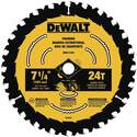 7-1/4-Inch Carbide 24 Tooth Circular Saw Blade