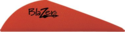 Bohning Archery 10831RD2 2 In Red Blazer Vanes 36pk