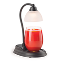 7-1/2-Inch Matte Black Aurora Warming Lamp