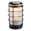 Coastal Metal And Glass Illumination Wax Warmer