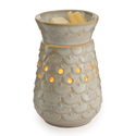 Candle Warmers Etc. MWSCA Scalloped Vase Midsize Illumination