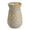Midsize Scalloped Vase Illumination Wax Warmer