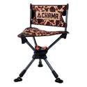 Vintage Camouflage Pursuit Hunting Chair With Travel Bag