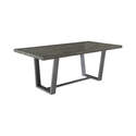Dittnar Aged Concrete Rectangular Dining Table