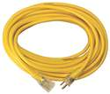 12/3 50-Foot Yellow Jacket Extension Cord