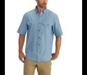 2x-Large Short Sleeve Chambray Shirt