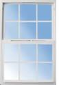 32 x 60-Inch White Vinyl Low-E Single Hung Window
