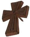 Cast Iron Cross Pin
