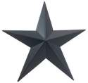 Metal Blue Star
