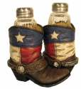 Texas Boots Salt And Pepper Shakers