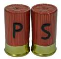 Shot Gun Shell Salt And Pepper Shakers Set
