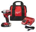 1/4-Inch 18-Volt M18 Lithium-Ion Compact Brushless Cordless Hex Impact Driver Kit